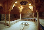 Salle dans des bains turcs ou hammam