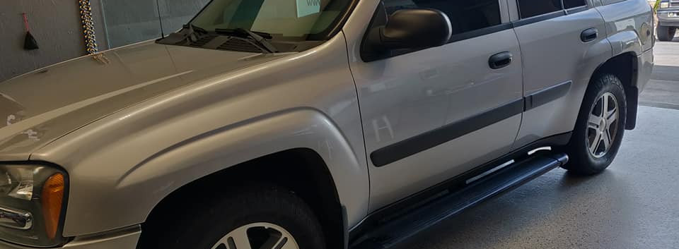 35% fronts for this TrailBlazer