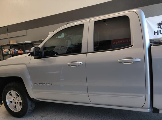 35% fronts for this Silverado