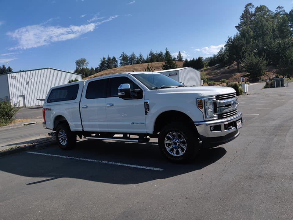 2018 Ford F250 20% fronts to match factory shaded glass