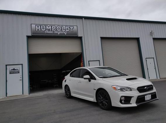 2019 Subaru WRX 5% limo tint