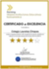 Certificado de Excelencia_Colegio Laurel