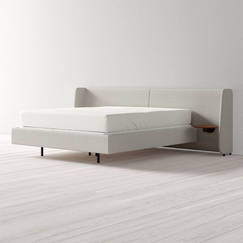 Hunker Upholstered Standard Bed