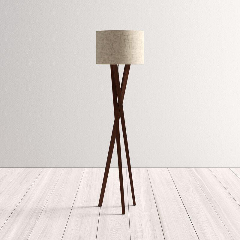 Adalwine Tripod Floor Lamp