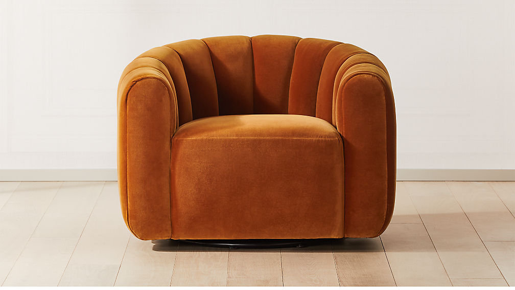 FITZ RUSSET SWIVEL CHAIR