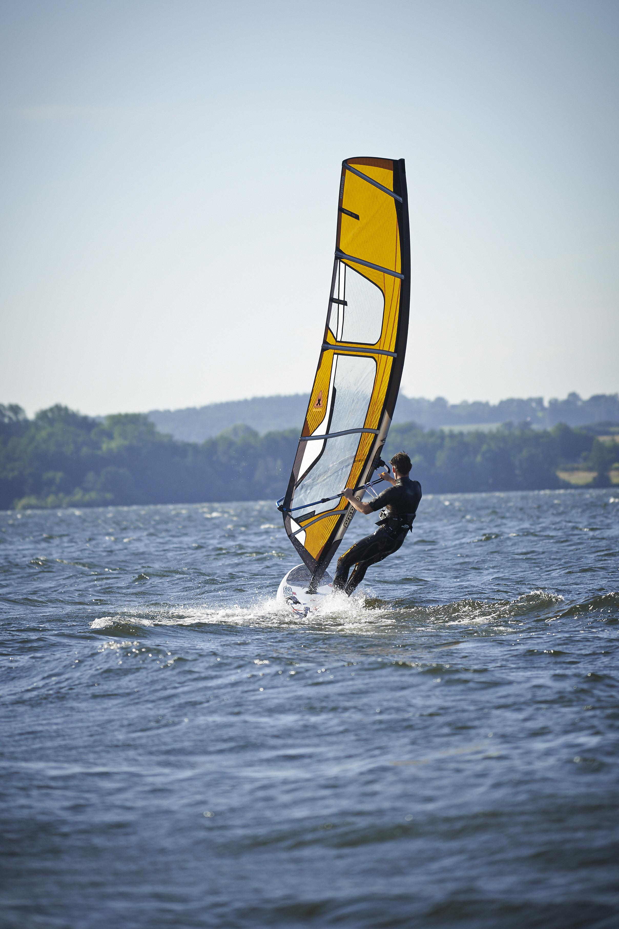 Windsurfing -Wittensee