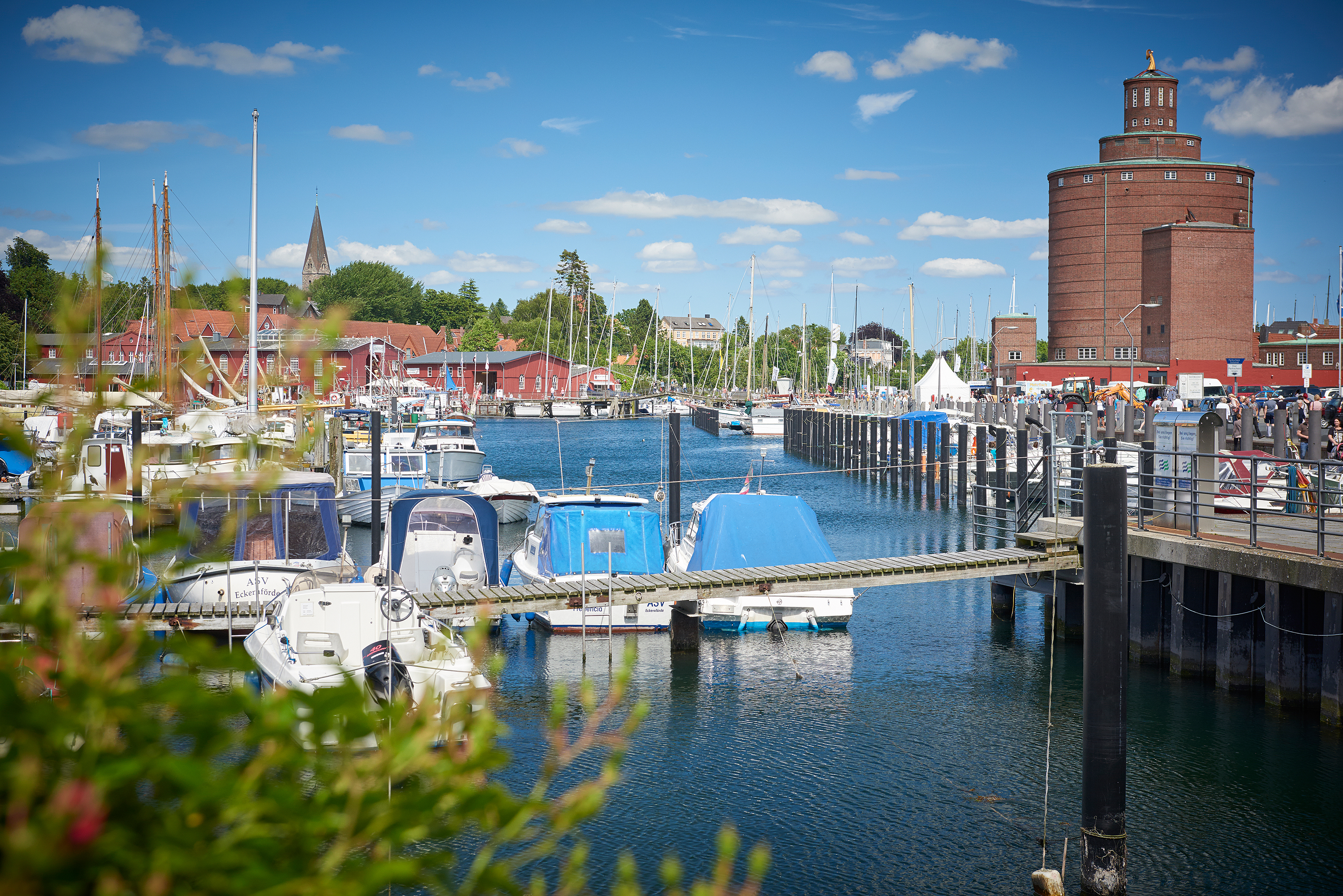 Eckenförder Hafen