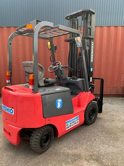 Nichyu Electric Forklift 2.0ton