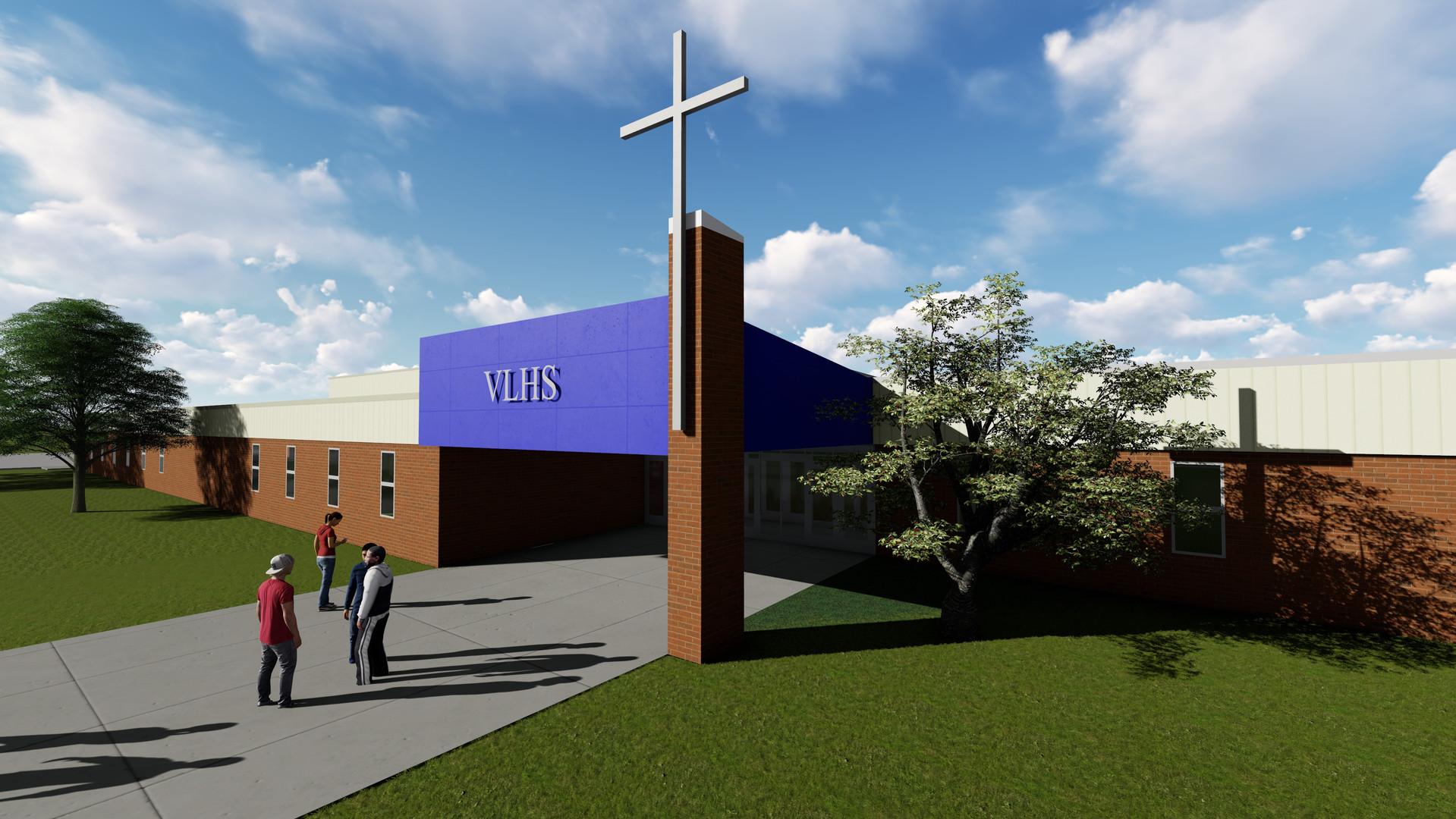 Future Valley Lutheran High School Addition