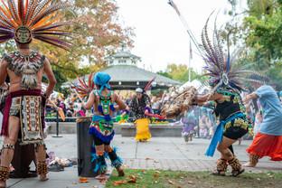 Aztec dance ritual