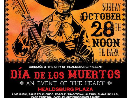 Día de los Muertos - Save the date!