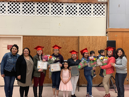 Hats off to these six amazing women for completing their GED!