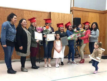 Corazon graduates first ten GED students
