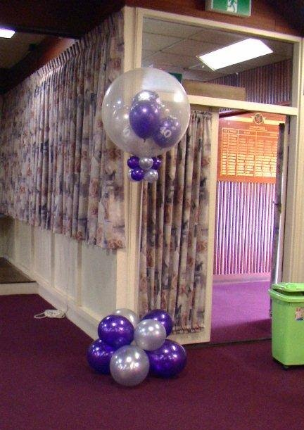 Stuffed Balloon Column