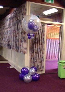 Stuffed Balloon Column