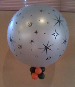 balloon printed