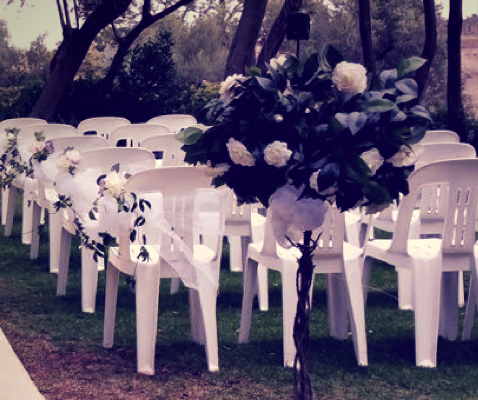 Wedding Ceremony Chairs Kalgoorlie