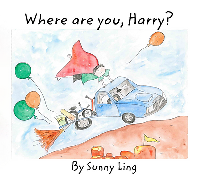 Where are you Harry - Front Cover Image.