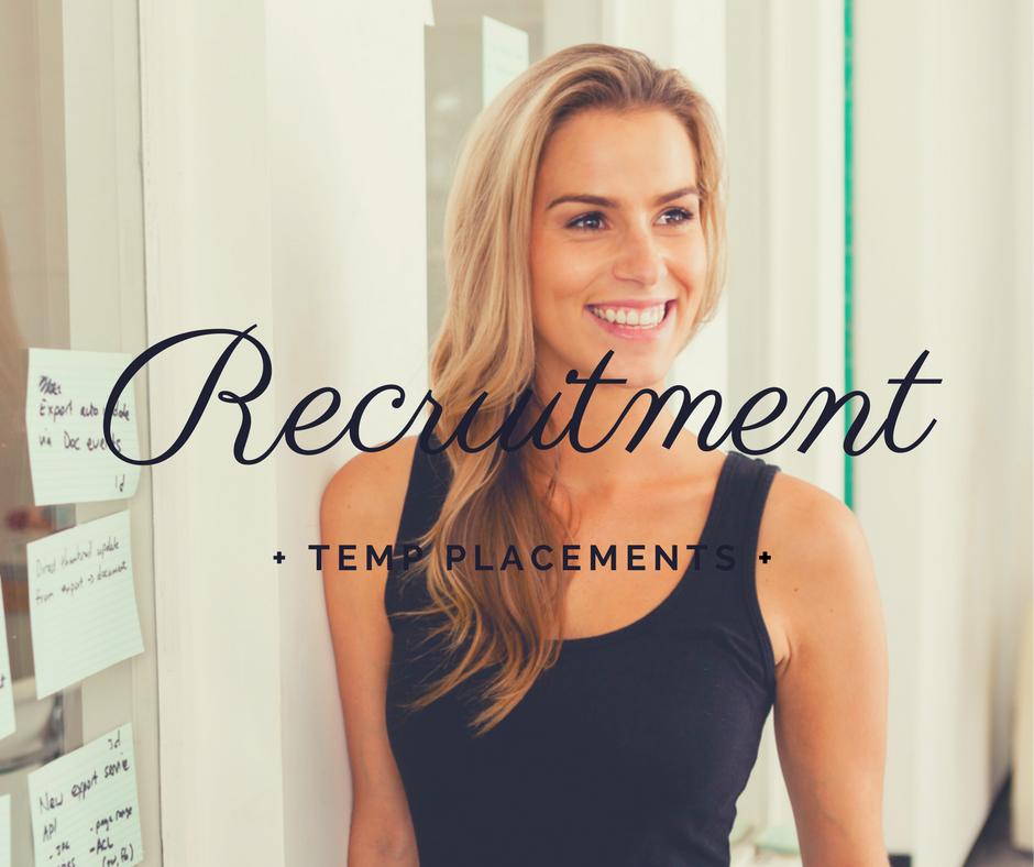 Recruitment & Temporary Personnel