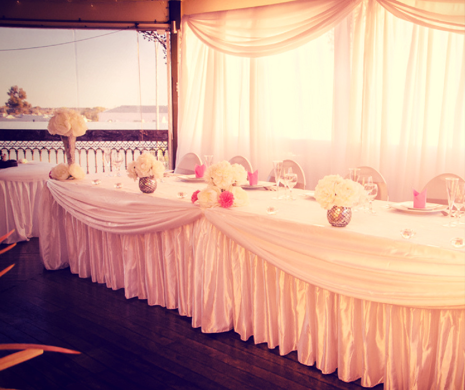 Bridal table, Kalgoorlie Hotel