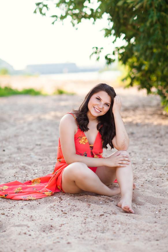 Marissa Cenobio | Green Forrest Senior Class of 2019 | Stephanie McBee Photography