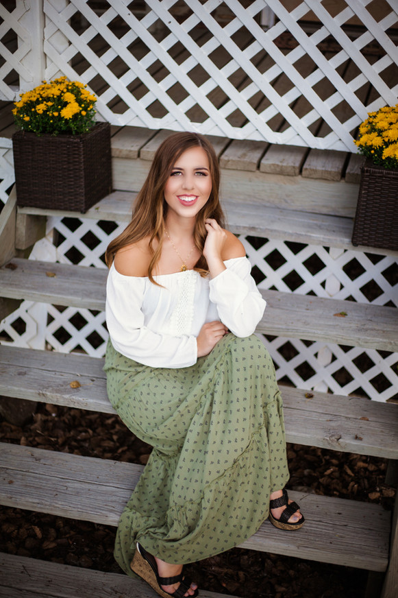 Stephanie McBee Photography - Alexis Carter Jasper, Ar Senior 2018