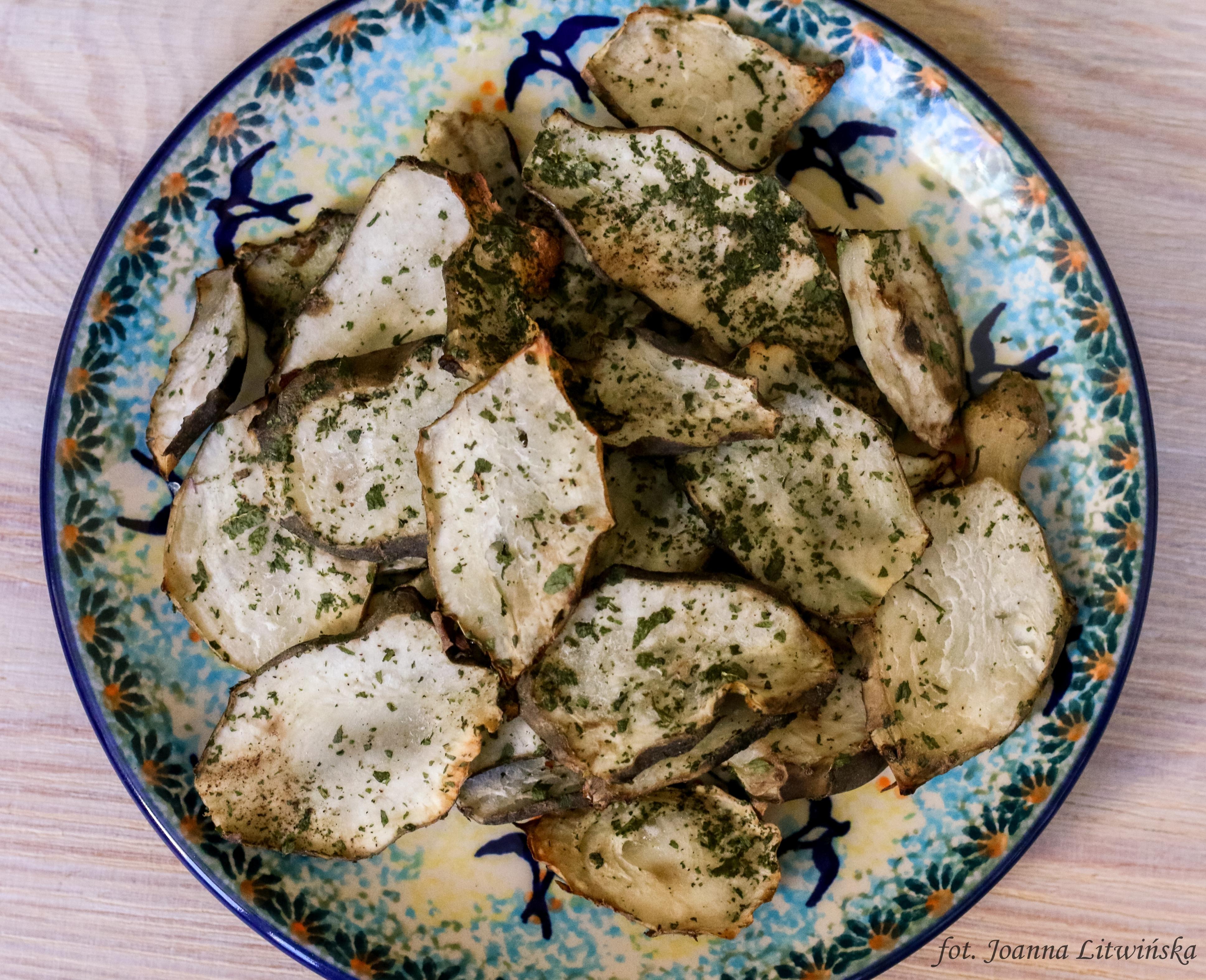 Chipsy z topinamburu