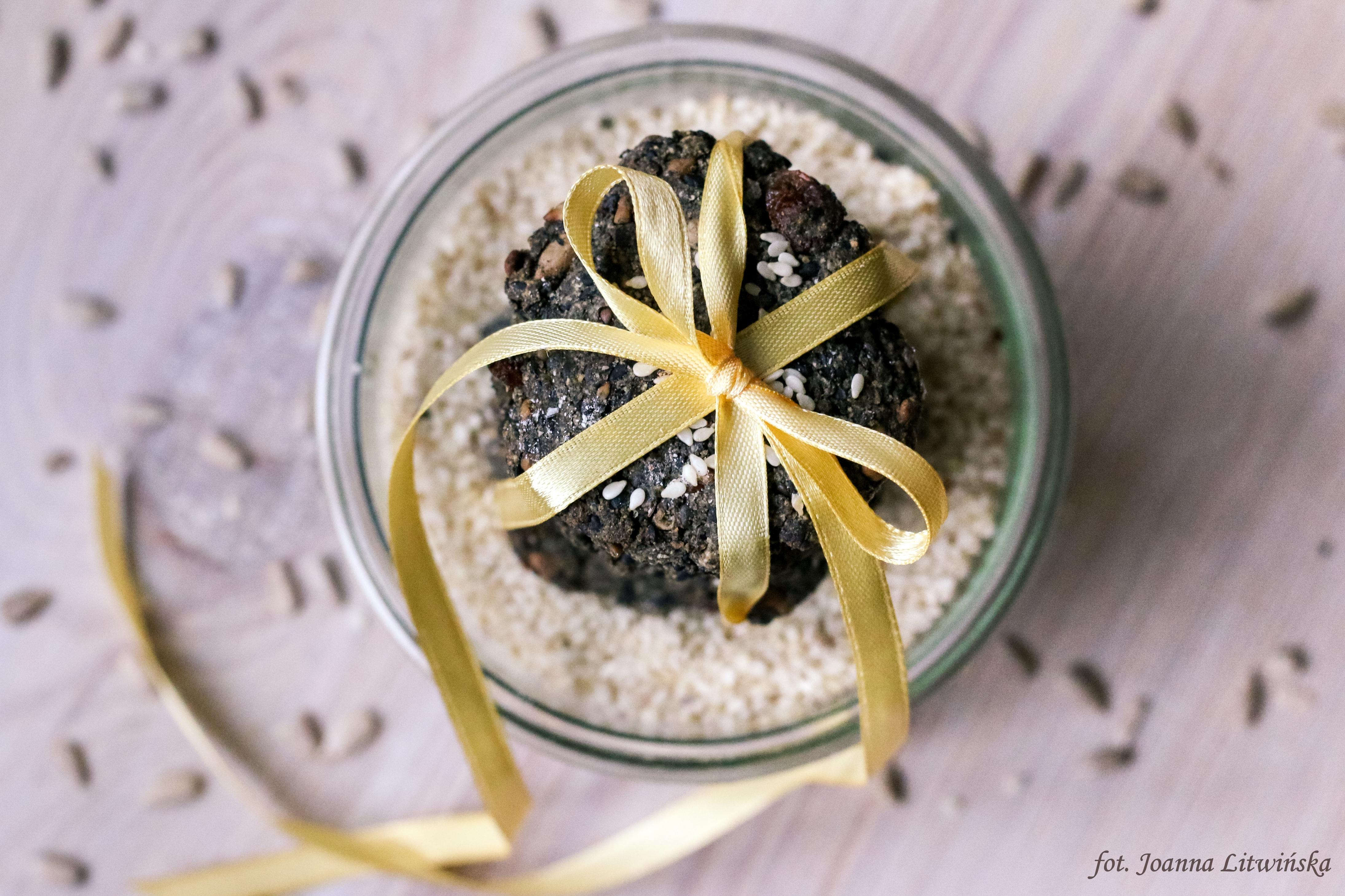 Ciasteczka z czarnym sezamem