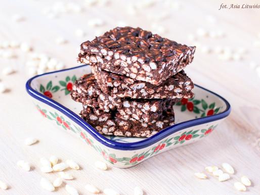 Wafle ryżowe z czekoladą