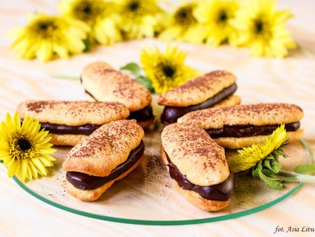 Choco sandwich czyli mięciutkie biszkopty z czekoladą