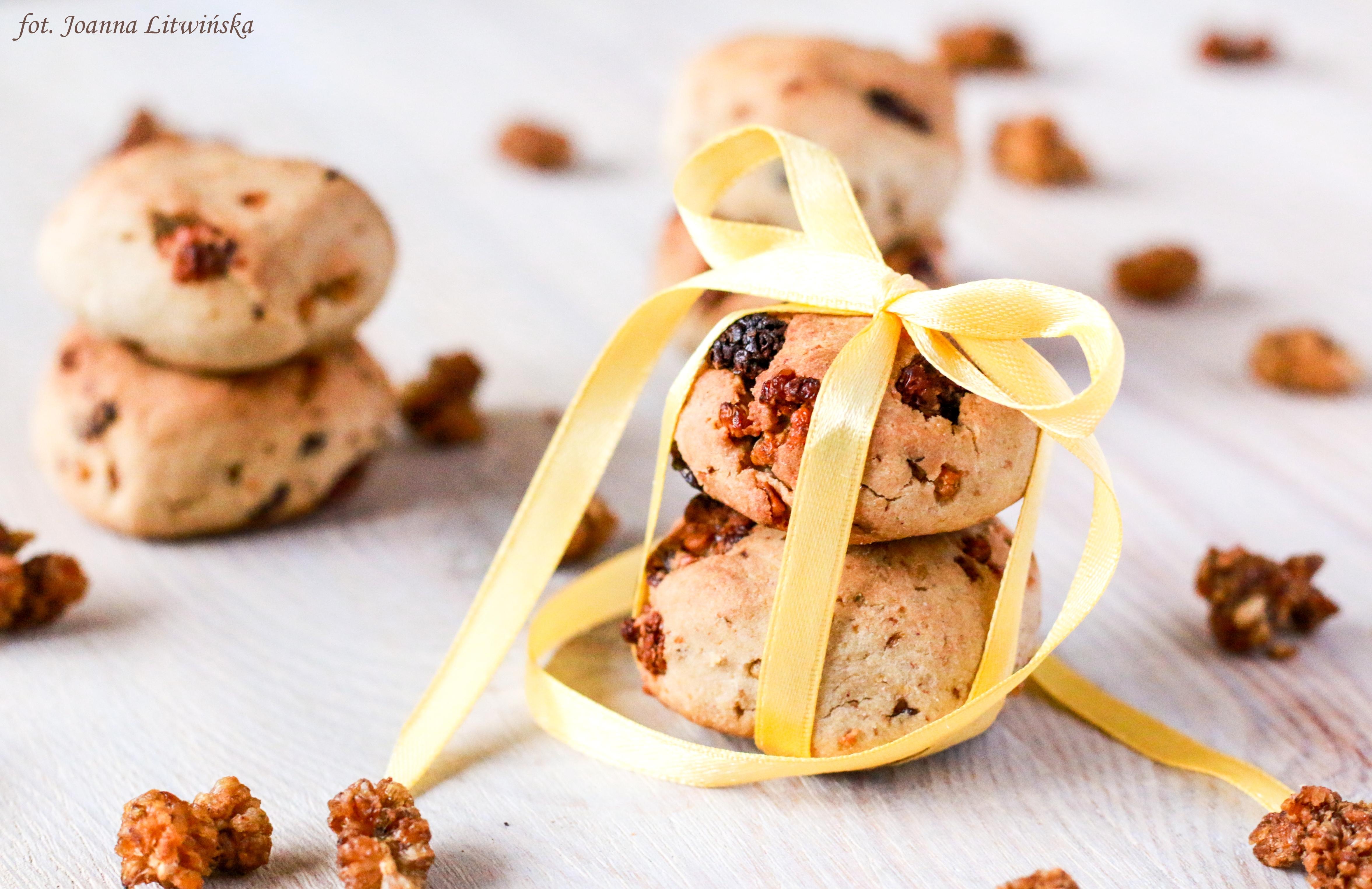 Ciasteczka z morwą
