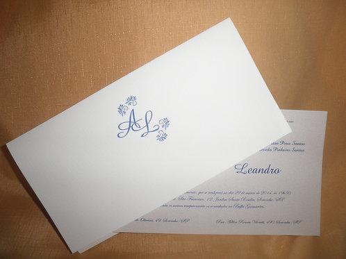 Convite de Casamento 4664FE