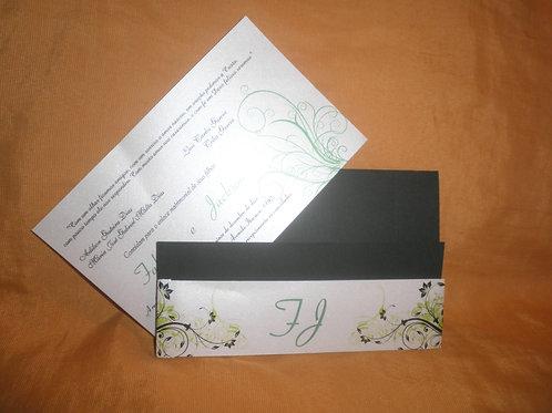 Convite De Casamento Verde Musgo 2E36EE