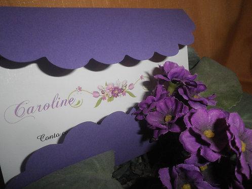 Convite 15 anos Caroline 66AAB7