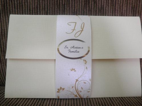 Convite De Casamento 2E5005