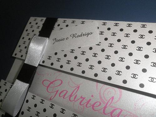 Convite 15 Anos Gabriella