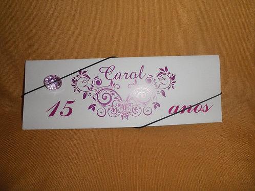 Convite 15 anos Carol 212CC5