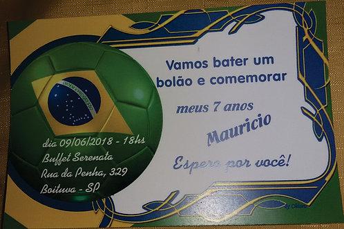 Convite Futebol 2