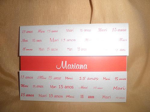 Convite 15 Anos Mariana