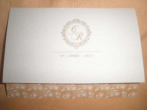 Convite Bodas de ouro 99398C