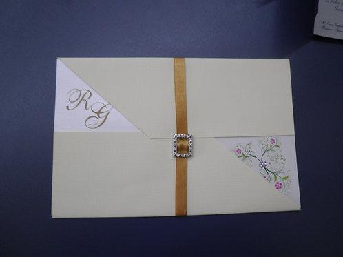 Convite de Casamento - PGD 2130 - 1EF11F