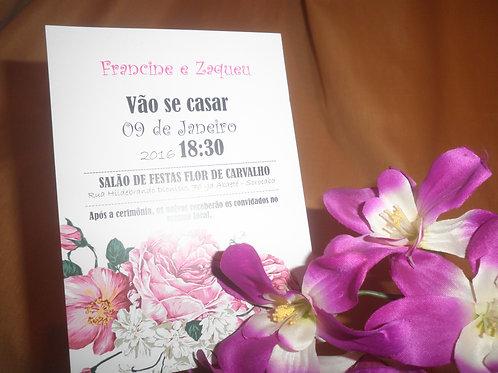 Convite de Casamento 667A8B