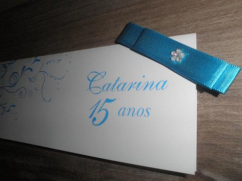 Convite 15 anos Catarina