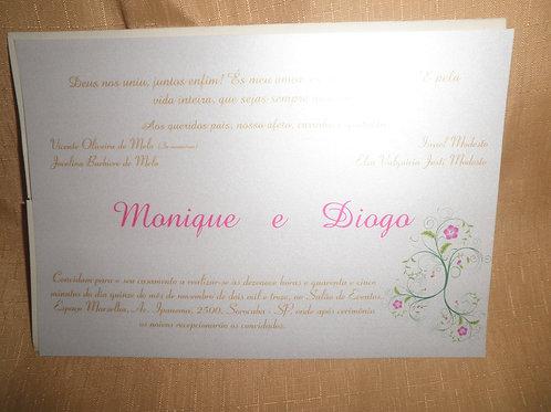 Convite de Casamento 46655F