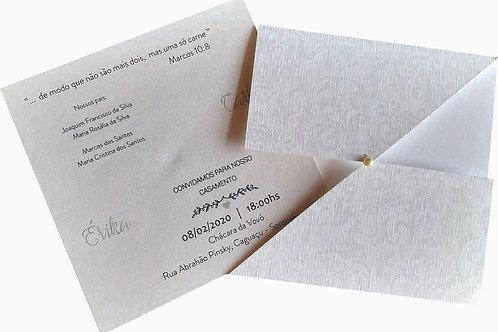 Convite De Casamento Erika Promocional