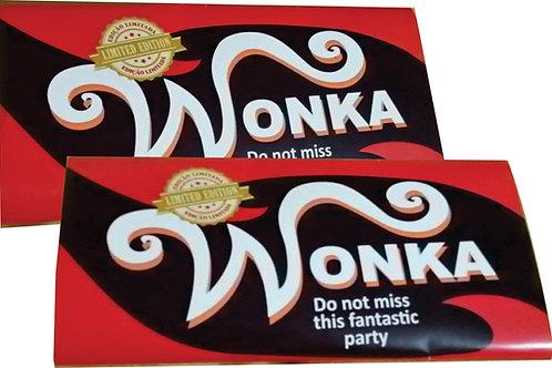 Convite Wonka