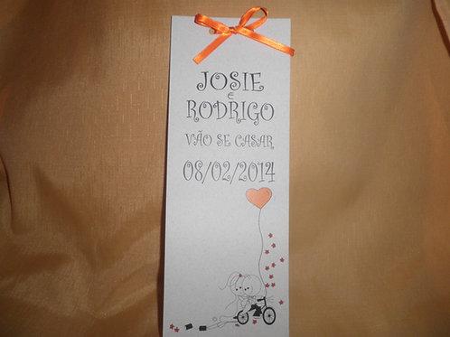 Convite de Casamento Josie e Rodrigo