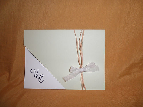 Convite de casamento PGD 2170 - 1EF1AF
