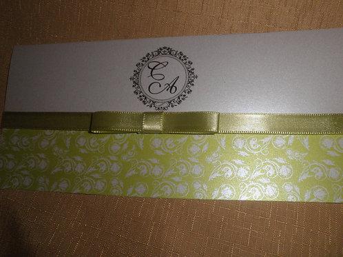 Convite de Casamento 5937CE