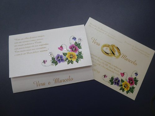 Convite de casamento - PGD 2260 - 1EF043